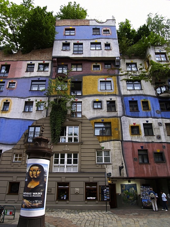 Hundertwasser House Photo Credit: © Emil Bilinski