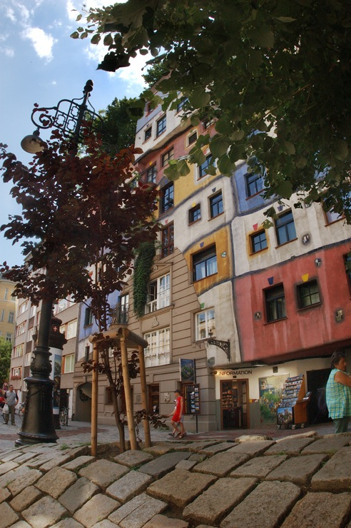 Hundertwasser House Photo Credit: © Gerhard Deutsch